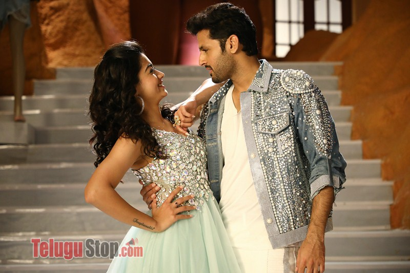 Bheeshma Movie Working Stills Telugu Whattey Beauty Lyrical Images Release Telugustop