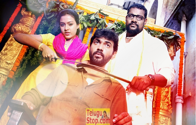 Aavu Puli Madyalo Prabas Pelli Movie Stills-Aavu Puli Madyalo Prabas Pelli Movie Stills-