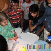 Allari Naresh at MNJ Cancer Hospital