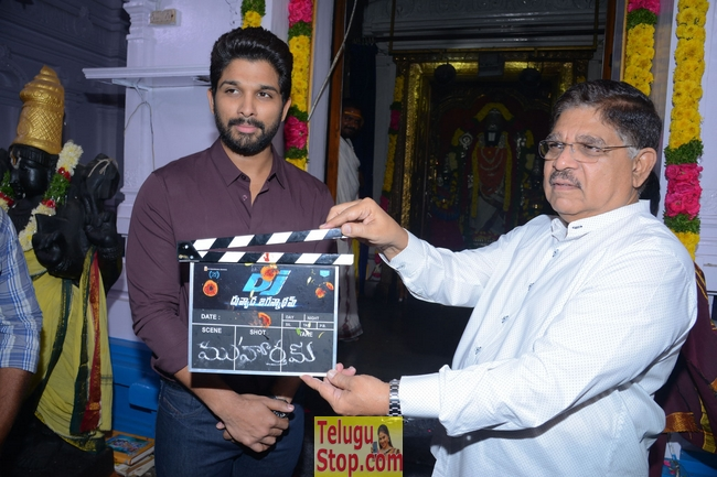 Allu arjun dj movie opening- Photos,Spicy Hot Pics,Images,High Resolution WallPapers Download