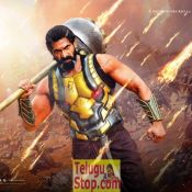 Baahubali 2 Rana Birthday Photo and Poster