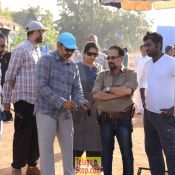 Bahubali 2 Working Photos