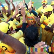 CCL 5 Chennai Rhinos Vs Kerala Strikers Match Photos