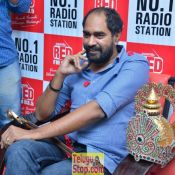 Director Krish at Red FM Studio HD 9 ?>