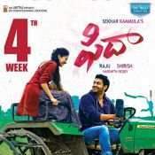 Fidaa Movie 4th Week Posters