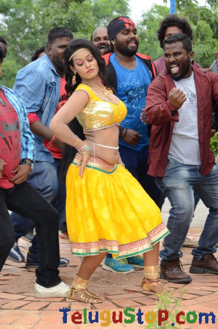 Gabbar singh gang movie iem song stills