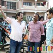 Rama Naidu, Director Dolly, Pawan, Gopala Gopala On location Stills