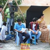Inkenti Nuvve Cheppu Movie Working Photos