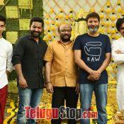 Jr NTR and Trivikram Srinivas Movie Opening Photos Photo 3 ?>