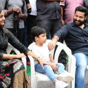 Jr NTR and Trivikram Srinivas Movie Opening Photos Photo 4 ?>