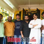 Jr NTR and Trivikram Srinivas Movie Opening Photos Pic 6 ?>