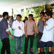 Ravi Teaj, Ntr, Allu Arjun and Kalyan Ram at Kick 2 Movie Opening