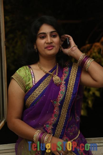 Krishnaveni Stills-Krishnaveni Stills--Telugu Actress Hot Photos Krishnaveni Stills-
