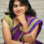 Krishnaveni in Saree Stills