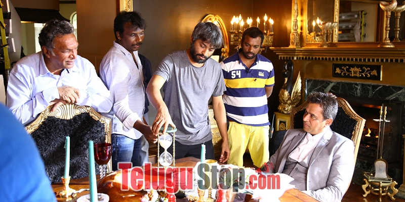 LIE Movie Working Stills-Lie Movie Working Stills- Telugu Movie First Look posters Wallpapers Lie Movie Working Stills-