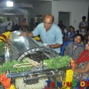Manjula Vijayakumar Condolences Photos