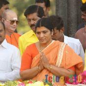 Nandamuri Family Members at NTR Ghat