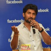 Nani and Keerthi Suresh at Facebook Office