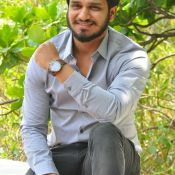 Nikhil  Interview Stills