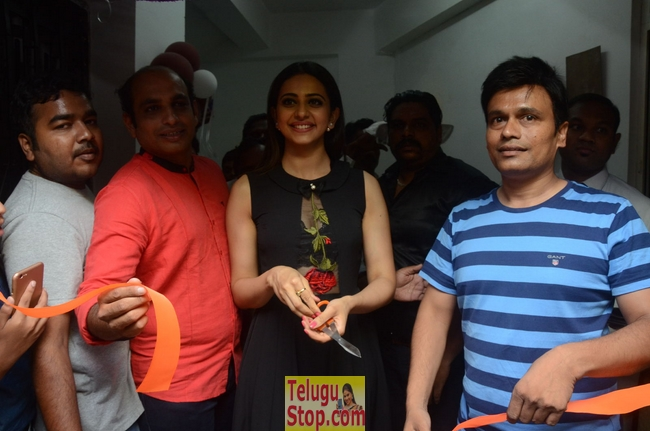 Rakul preet singh launches sahara cafe