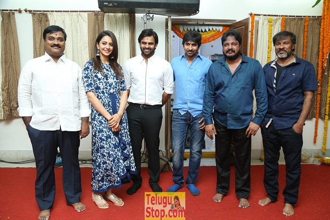 Sai dharam tej movie opening