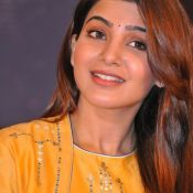 Samantha New Pics at Raju Gari Gadhi2 Pressmeet Pic 6 ?>