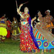 Shilpi Sharma ENJOYING THE NAVARATRI FESTIVITIES