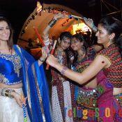 Shilpi Sharma Doing Dandiya