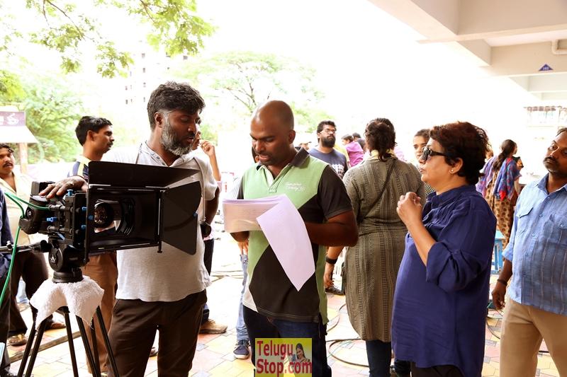 Vaishakham movie working stills 2