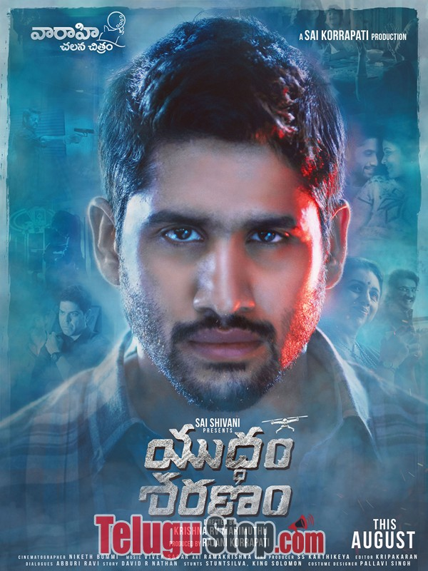Yuddham sharanam movie posters- Photos,Spicy Hot Pics,Images,High Resolution WallPapers Download