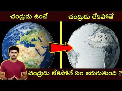 TeluguStop.com - What Would Happen To Earth If There Is No Moon In Telugu చంద్రుడు లేకపోతే ఏం జరుగుతుంది -Telugu Trending Viral Videos-Telugu Tollywood Photo Image