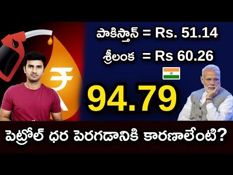 Record High Petrol Prices In India |పెట్రోల్ ధర పెరగడానికి కారణాలేంటి |TeluguStop|-Record High Petrol Prices In India పెట్రోల్ ధర పెరగడానికి కారణాలేంటి TeluguStop-Telugu Trending Viral Videos-Telugu Tollywood Photo Image-TeluguStop.com