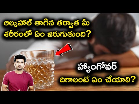 What Happens When We Drink Alcohol?| Why Do We Get Hangovers?| Telugu Facts|-What Happens When We Drink Alcohol Why Do We Get Hangovers Telugu Facts-Telugu Trending Viral Videos-Telugu Tollywood Photo Image-TeluguStop.com