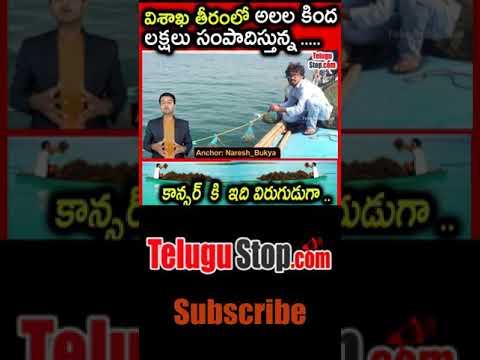 Seaweed Farming: Profitable Seaweeds Cultivation In Vizag-Seaweed Farming: Profitable Seaweeds Cultivation In Vizag-Telugu Trending Viral Videos-Telugu Tollywood Photo Image-TeluguStop.com