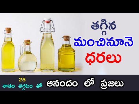 Edible Oils Prices To Be Reduced By 20 Percent    తగ్గిన మంచినూనె ధరలు    Central Govt  edible Oil-TeluguStop.com