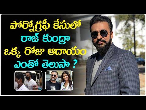 Shilpa Shetty Husband Raj Kundra Income Telug-TeluguStop.com