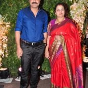 Chiranjeevi daughter Srija Wedding Reception