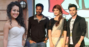 Prabhu Deva Ramaiya Vastavaiya Music Launch Photos Shruti Hassan At With Sonusood Download Online HD Quality