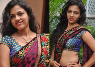 Chaitra Saree Stills