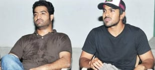 ntr and ramcharan reaction on srihari death photos,image,pics,photo gallery
