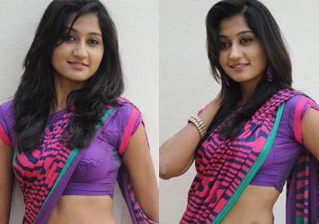 Actress Akshitha Saree Stills-,,Akishitha Images In Saree,Akshita Bhojpuri Actress