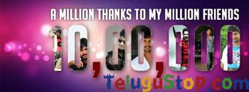 Nani touched 1 Million mark