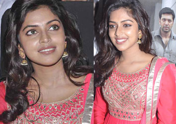 Amala Paul At Nimirnthu Nil Movie Audio Launch Event