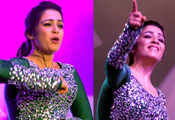 Charmi Dance at Country Club New Year Bash-Charmi Dance At Country Club New Year Bash--Telugu Actress Hot Photos Charmi Dance At Country Club New Year Bash---
