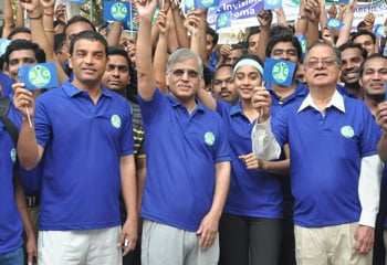 Dil Raju At Glaucoma Awareness Walk...