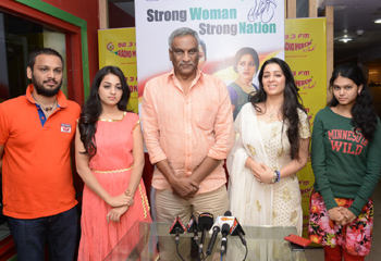 Prathighatana Team At Radio Mirchi...
