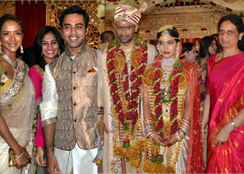 Sabitha Indra Reddy Son Marriage Photos...