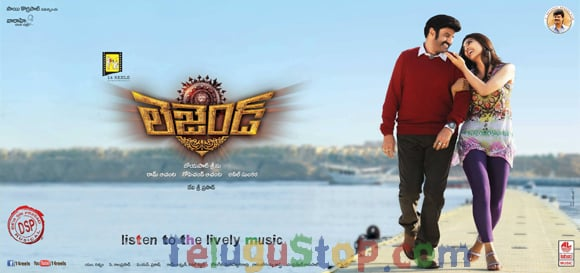 Legend new poster: Balayya romantic angle exposed!! Photo Image Pic