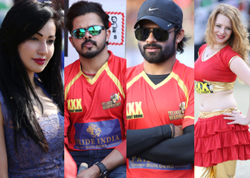CCL 5 Telugu Warriors vs Karnataka Bulldozers Match Photos