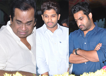 MS Narayana Condolences Photos